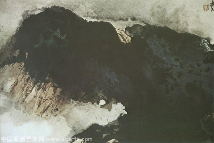 湛江夏山风景图