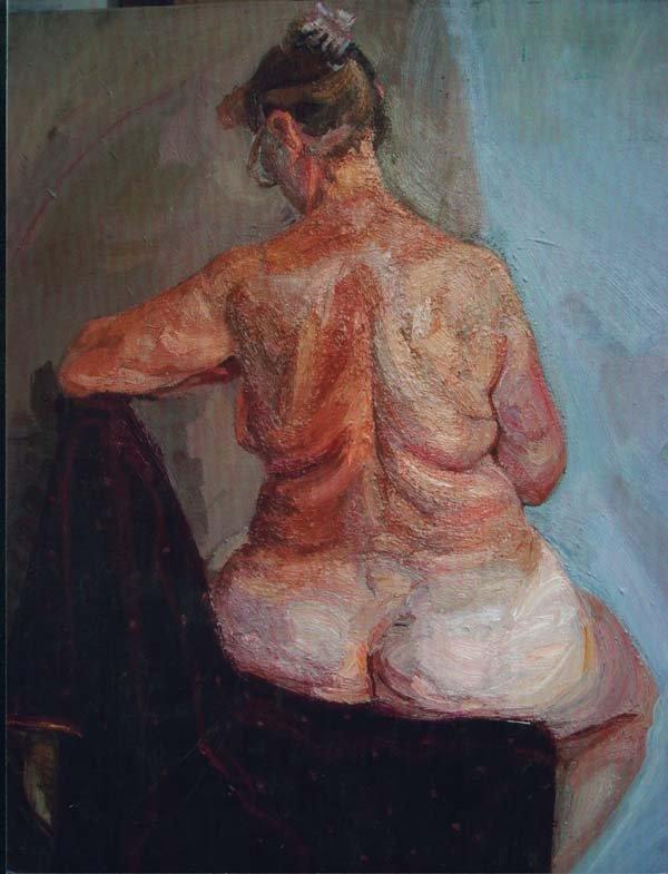 展览作品--油画家林晨曦官方网站--原创艺术网
