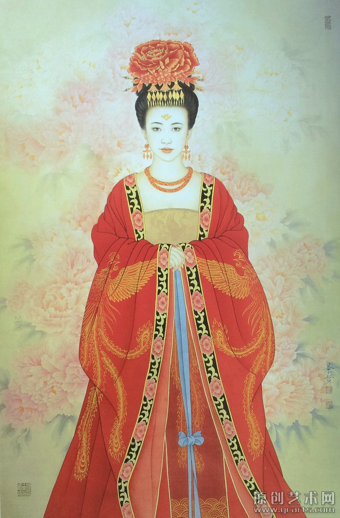 中国红系列·国色天香