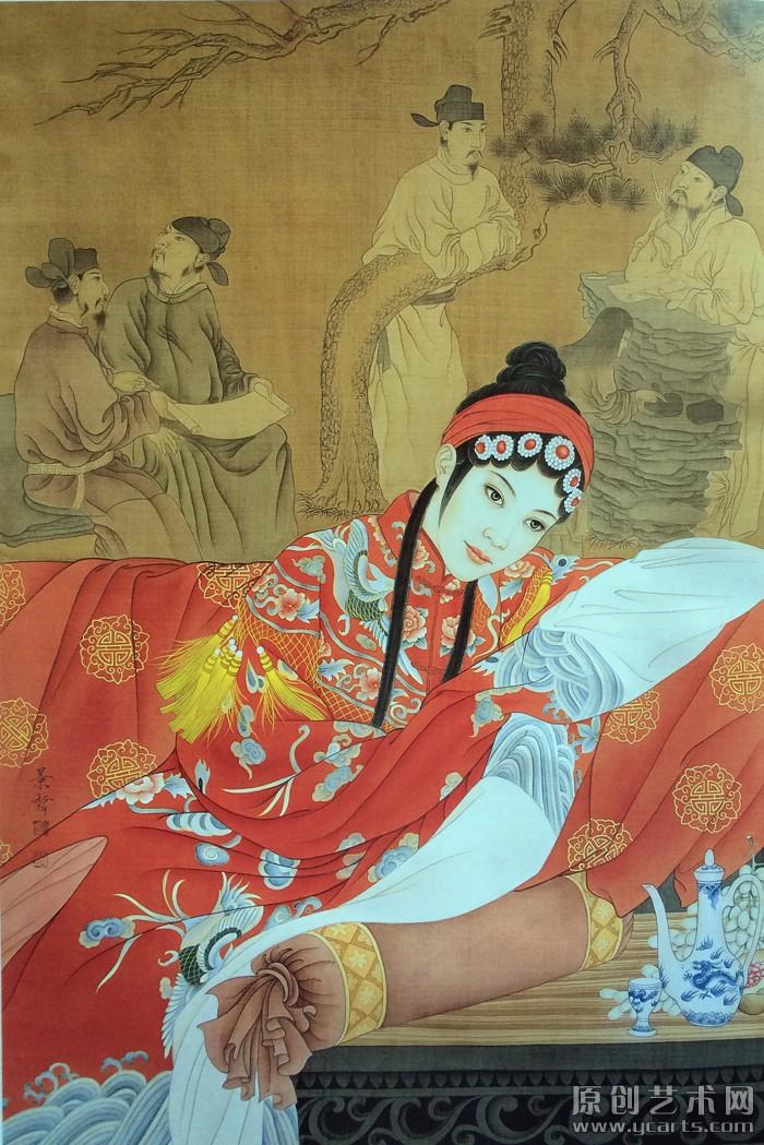 中国红系列·情系梨园